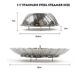 Stainless Steel Folding Steamer