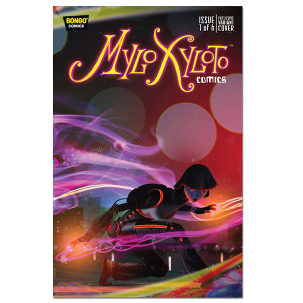 Mylo Xyloto Issue One Comic-Con Variant Cover - Coldplay US