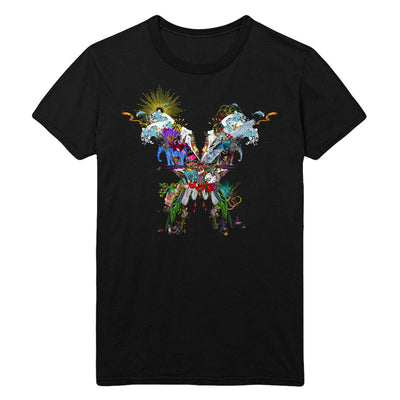 Butterfly Black T-shirt - Coldplay US