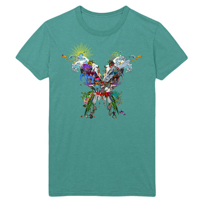 Butterfly Seafoam T-shirt - Coldplay US