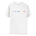COLOR CHANGE LOGO TEE-Coldplay
