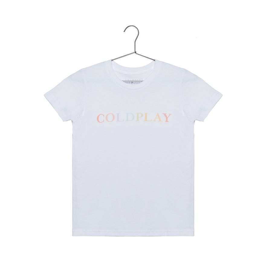 COLOR CHANGE LOGO KIDS' TEE-Coldplay