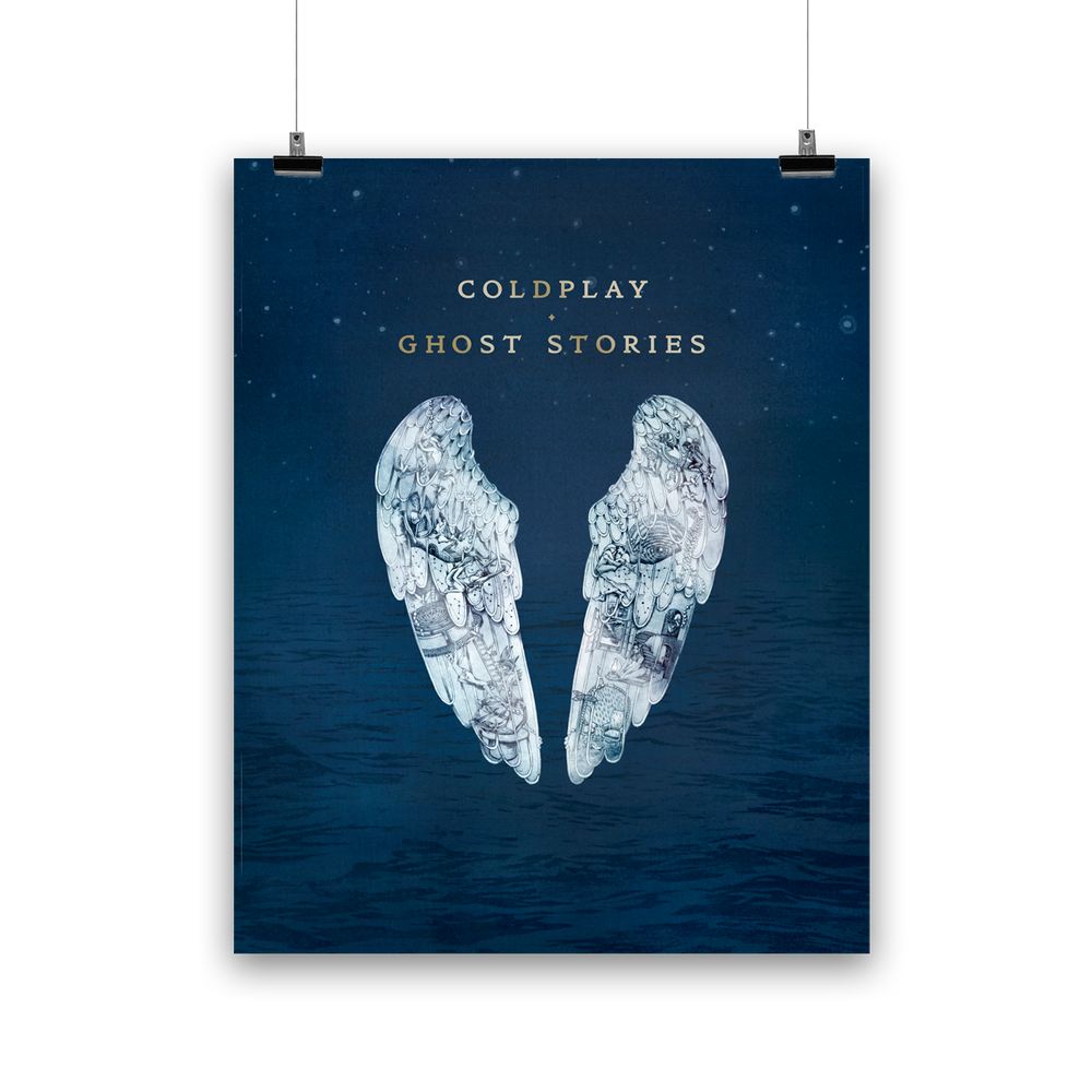 GHOST STORIES <br>LITHOGRAPH-Coldplay
