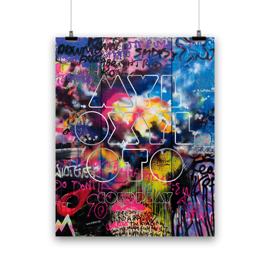 MYLO XYLOTO <br>LITHOGRAPH-Coldplay