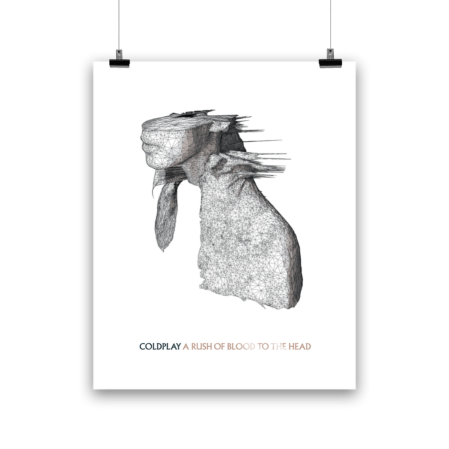 A RUSH OF BLOOD TO THE HEAD <br>LIGHOGRAPH-Coldplay