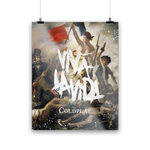 VIVA LA VIDA OR DEATH AND ALL HIS FRIENDS<br> LITHOGRAPH-Coldplay