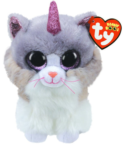 Beanie Boos Regular Asher the Cat with Horn