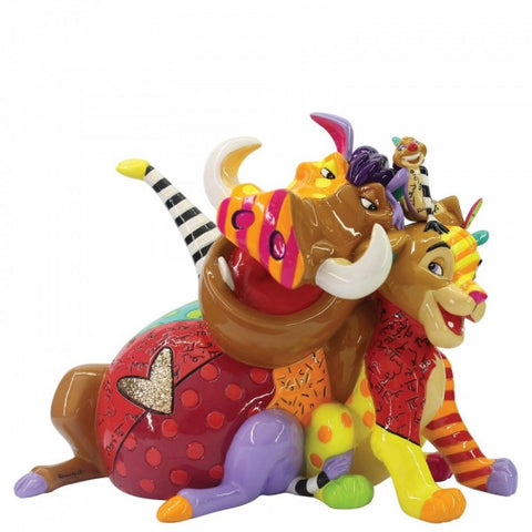 Britto Lion King Medium Figurine