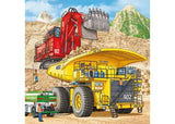 Ravensburger - Giant Vehicles Puzzle 3x49pc