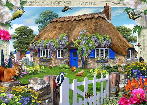 Ravensburger - Wisteria Country Cottage 1000pc