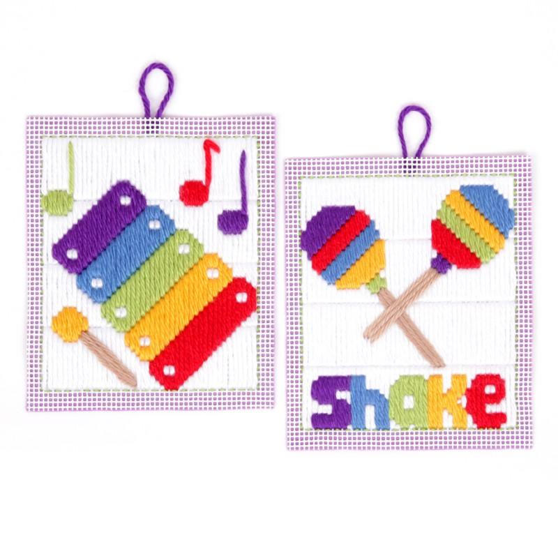 Musical Long Stitch Kit