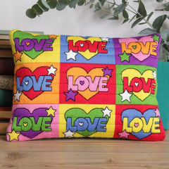 Psychedelic Love Long Stitch Cushion Kit