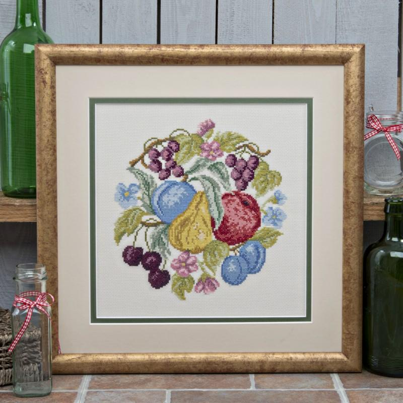 Twilleys Abundance Cross Stitch Photo Kit | Needlepoint Kit
