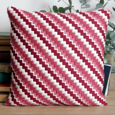 Twilleys Funky Zig Zag Long Stitch Cushion Kit