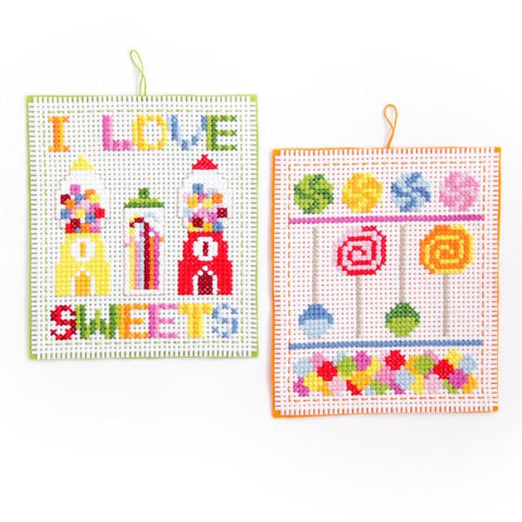 Easy Pick and Mix Cross Stitch For Children