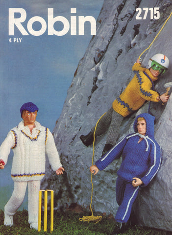 Action Man Outfits