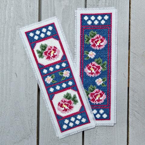 Twilleys Twilight Roses Cross Stitch Bookmark Kit