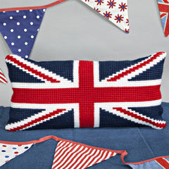 Twilleys Union Jack Cross Stitch Kit | Cushion Kit