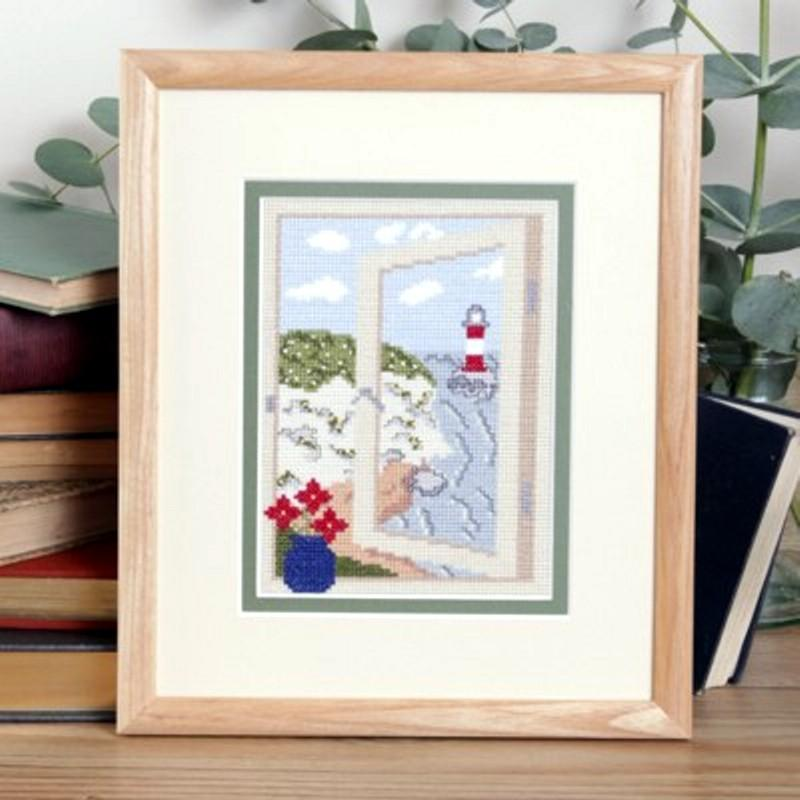 Twilleys Coastal View Cross Stitch Photo Kit