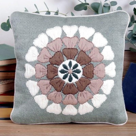 Twilleys Contemporary Floral Long Stitch Cushion Kit