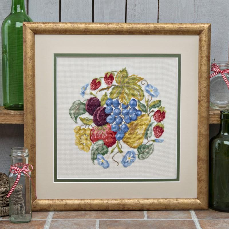 Profusion Fruit Cross Stitch Photo Kit