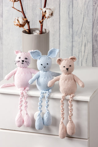 Cat, Rabbit & Bear