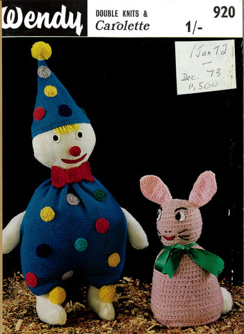 Clown & Rabbit