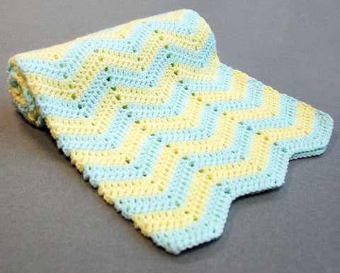 Crochet Baby Blanket Kit