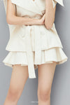Two-side Pleated Shorts
