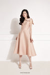 FANCEE Bow Midi Dress