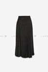 CELINE Pleated Midi Skirt