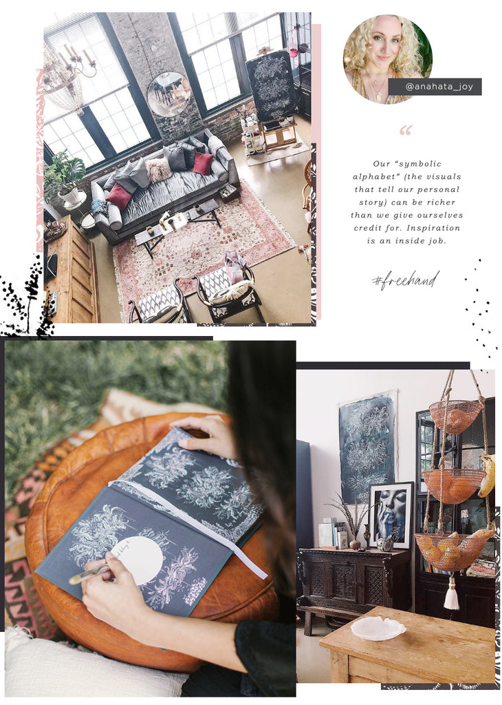 Journal and Greeting Cards and Interior Design
