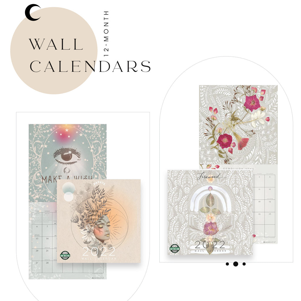 PAPAYA 2021-2022 Planners + Wall Calendars + Desk Pads - Ideal for a home office, work environment or school planning, A unique organizational item to accompany you to daily office life, through your school journey or at home for easy and efficient planning of the whole year