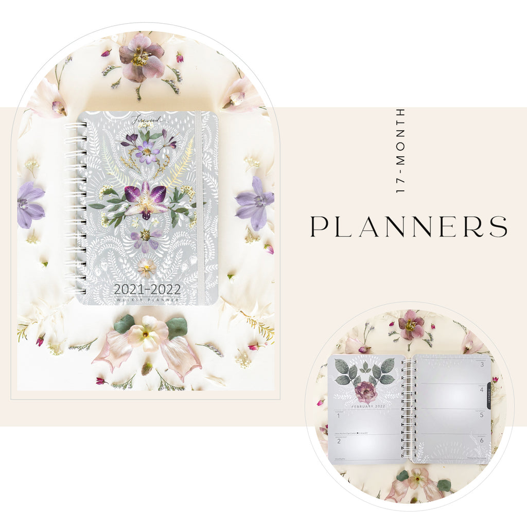 PAPAYA 2021-2022 Planners + Calendars + Desk Pads - Ideal for a home office, work environment or school planning, A unique organizational item to accompany you to daily office life, through your school journey or at home for easy and efficient planning of the whole year