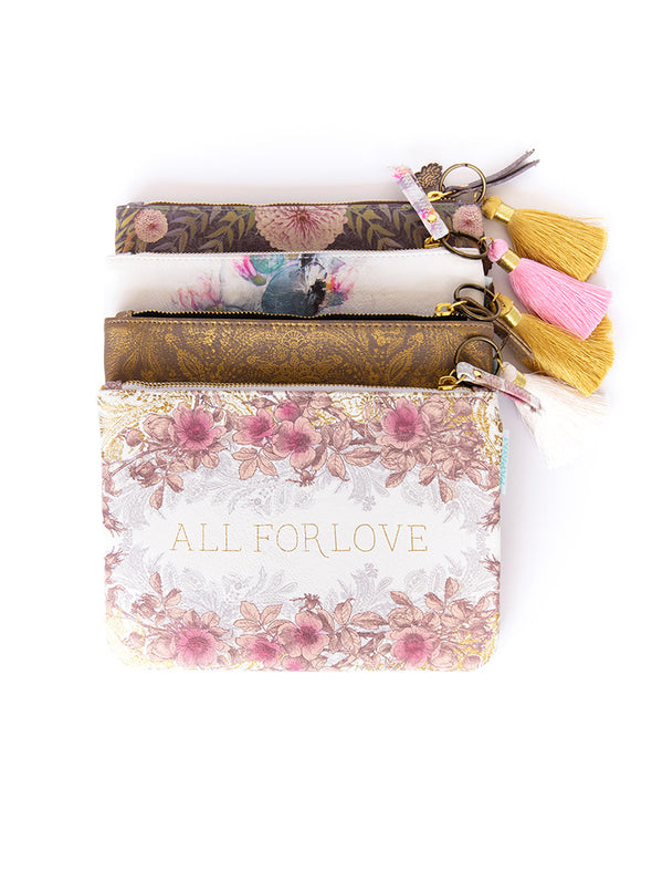 all for love pocket clutch multiple designs