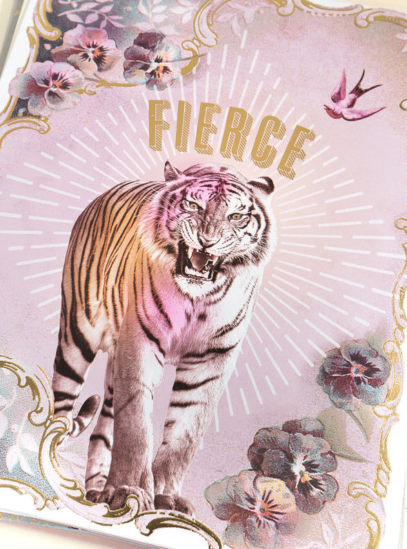 Art Print, Fierce