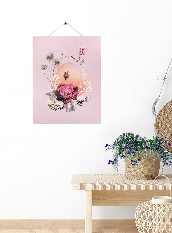 Art Print, Lavender Rose