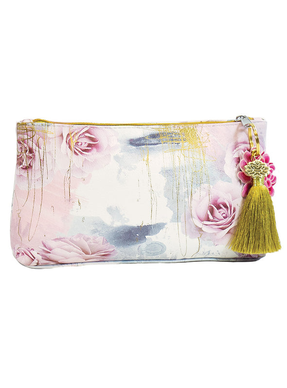 truth to power small accessory pouch with tassel