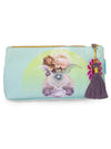 Solar Blooms Small Tassel Pouch