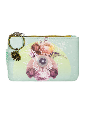 Coin Purse, Solar Blooms