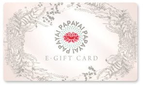 Virtual Gift Card to Papaya
