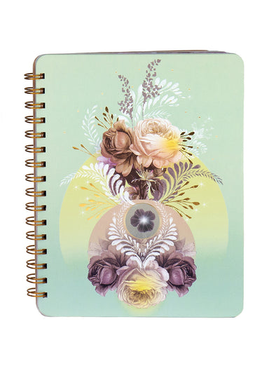 Solar Blooms Spiral Notebook