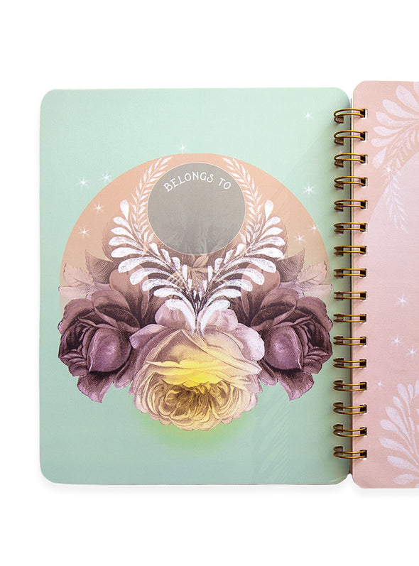Spiral Notebook, Solar Blooms
