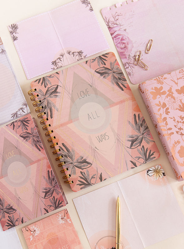 love all ways stationery set