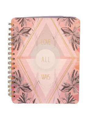 Love All Ways Spiral Notebook