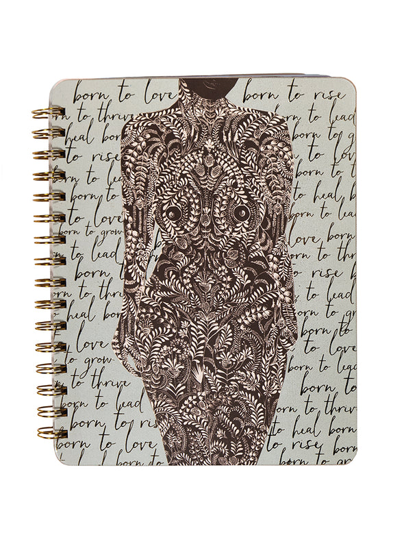 Notebook, Living Woman