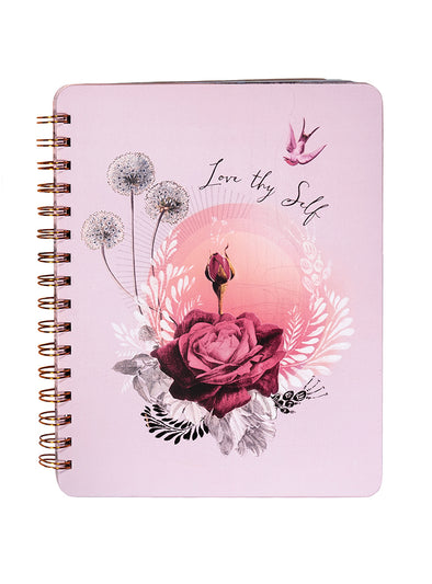 Notebook, Lavender Rose
