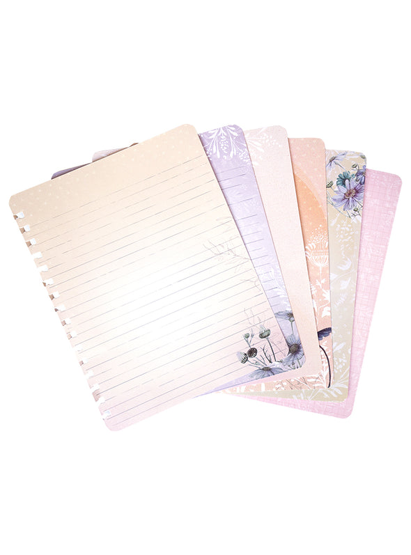 page examples of spiral notebook