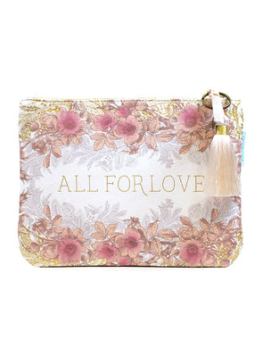 all for love pocket clutch front