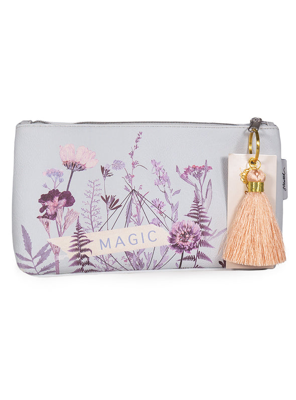 Tassel Pouch, Flower Bed